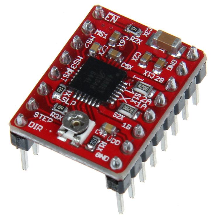 5pcs DRV8825 axes Pas à Pas Moteur Driver Module pour imprimante 3D RepRap RP A4988 reprap