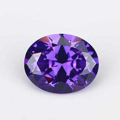 Huge Purple Sapphire 29.60cts 15x20MM Oval Shape AAAAA VVS Loose Gemstone