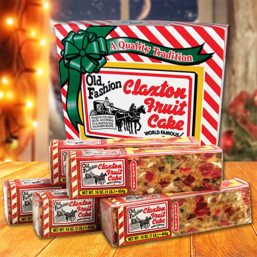 Claxton Fruit Cake 5-1 Lb. REGULAR - Shipped Direct From Claxton Bakery, Inc.