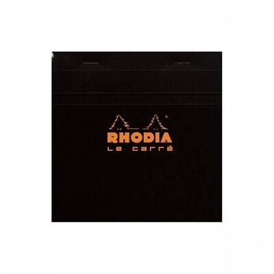 Rhodia Staplebound - Notepad - Black - Graph - Le Carr - 5.75 X 5.75 - R148209
