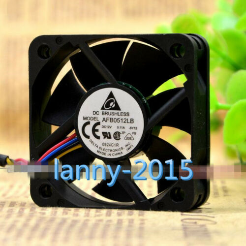 1pc For Fan Delta Afb0512lb 5015 12v 0.11a 5cm