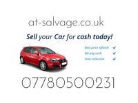 d66153dccf Scrap a car cash on collection cash at-salvage used cars and vans wanted  Scrap