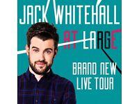 2 x Jack Whitehall Tickets - Saturday 11/02/17 - Block N7 - London SSE Arena