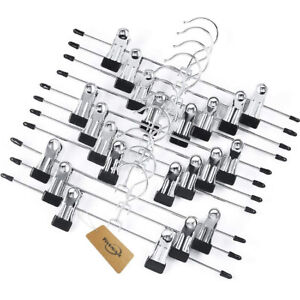 Tosnail 12 Pack Add-On Hangers Stackable