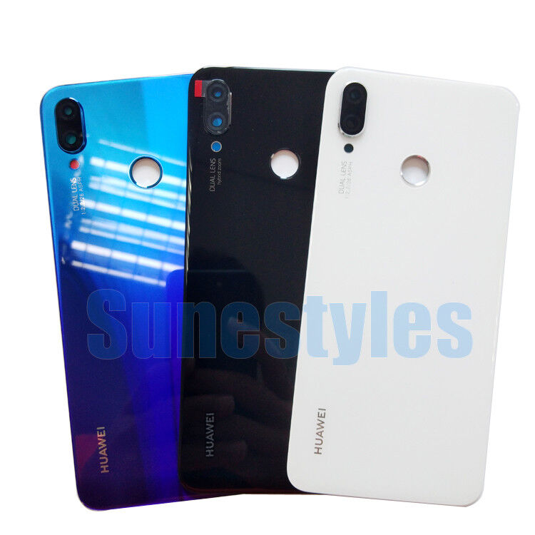scarpe sportive 1667a 5f5d8 Details about OEM Genuine Housing Rear Glass Battery Back Cover For Huawei  P Smart Plus Smart+