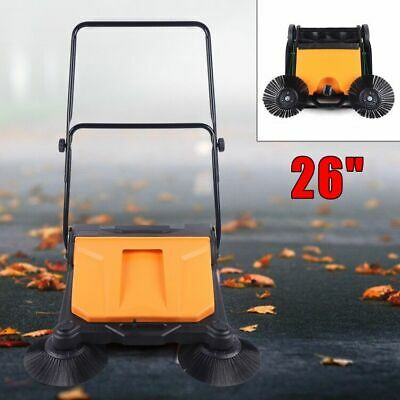 Hand Push 360 Spin Sweeper Cleaner Floor Cleaning Sweeper Householdcommercial