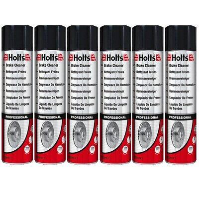 6 x 600ml Holts Bremsenreiniger 246060 Brake Cleaner Power Clean Quick Dry