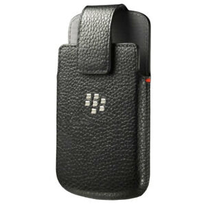 Original (OEM) BlackBerry Bold Q10 Leather Swivel Holster