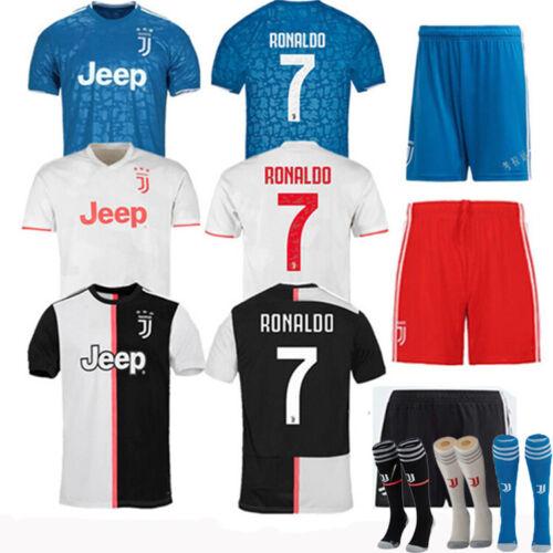 Fußballtrikots Fußball Kurzarmtrikot Streifen Kinder Erwachsene Trainingsoutfit