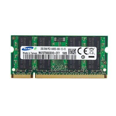 Modulo Memoria RAM Portatil 2 GB 800 MHz DDR2 PC2-6400