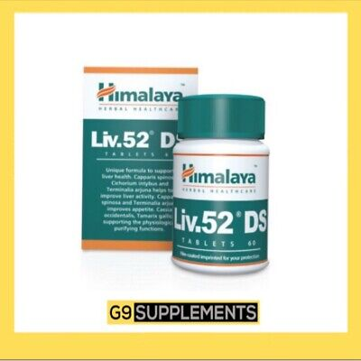 Liv.52 DS Liver Care 60 Tablets Liver Help & Help In Loss Of Appetite - UK STOCK