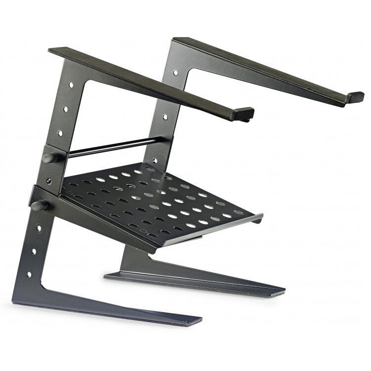 Stagg Professional DJ Desktop Laptop Stand w//Lower Support Plate DJS-LT20