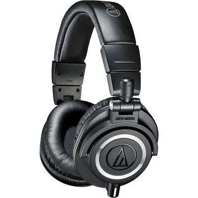 - Audio Technica ATH-M50x Professional Monitor Headphones Black  - Open Box