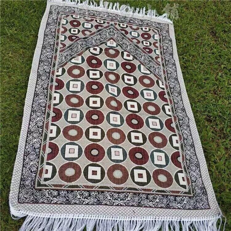 Prayer Rug, Islamic Prayer Mat, Janamaz, Sajada, High Quality Muslim Salah