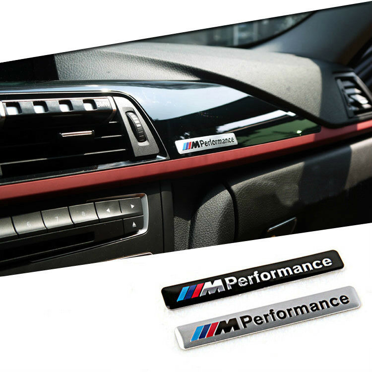 3D M Performance Sport Logo For BMW M Series Car Sticker Emblem Badge Decal 1PC