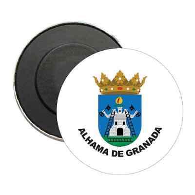 IMAN REDONDO ESCUDO ALHAMA DE GRANADA - GRANADA