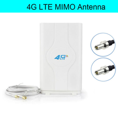 Details about Gain 88dBi Booster Amplifier LTE 4G WiFi MIMO Antenna TS9  HUAWEI ZTE Router US