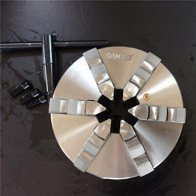 3jaw 4jaw 6jaw Lathe Chuck Self-centering Metal Lathe Clamping Chuck 80250mm