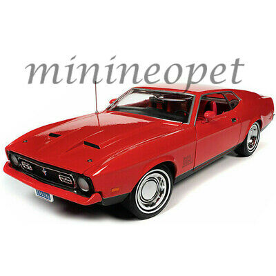 AUTOWORLD AWSS126 DIAMONDS ARE FOREVER JAMES BOND 1971 FORD MUSTANG MACH 1 1/18