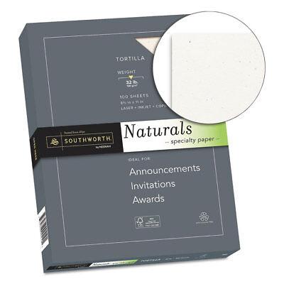 Southworth Co. Naturals Paper Tortilla 8 12 X 11 32lb 100 Sheets 99419