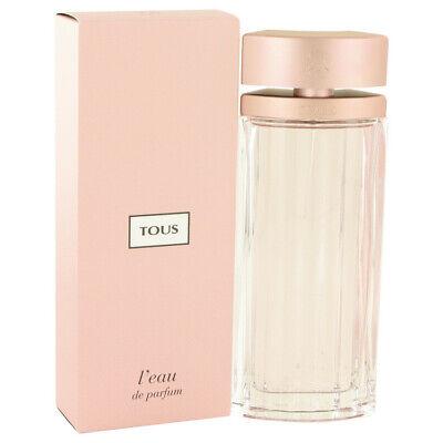 Tous L'eau by Tous 3 oz 90 ml EDP Spray Perfume for Women New in Box