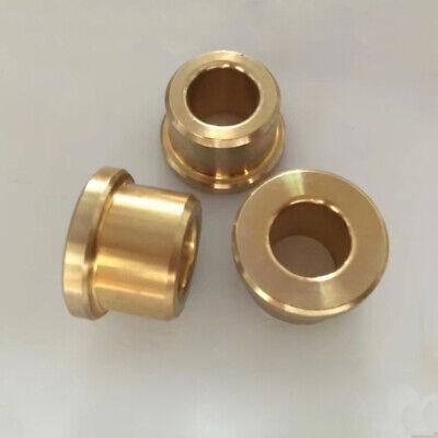 Copper Baffle Copper Flange - 2pcs brass stepped flange copper sets powder metallurgy baffle oily 4mm-8mm ID