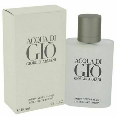 Giorgio Armani Acqua Di Gio After Shave Lotion Men 3.4 Oz /100 Ml New In Box