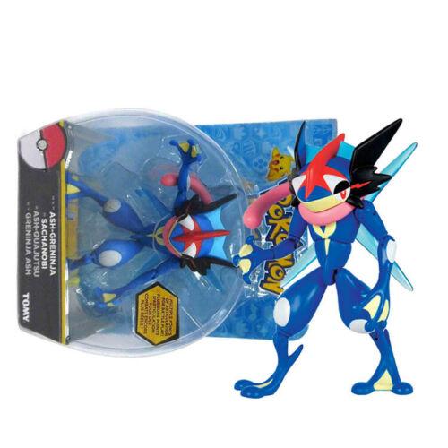 "как выглядит Tomy Monsters ASH-GRENINJA QUAJUTSU SACHANOBI Action Figure 5.8"" фото"