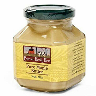 100% All Natural Maple Butter or Creme 10 oz glass jar, GF