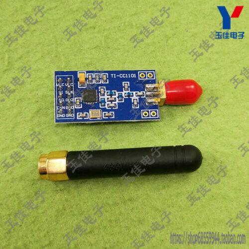 1pc New Cc1101 Wireless Transceiver Module Rf1100 Cylindrical Antenna