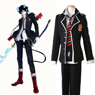 Exorcist Halloween Costumes (Anime Blue Exorcist Cosplay Costumes Rin Okumura Cosplay Costume Halloween)