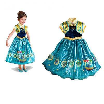 Frozen Fever Inspired Anna  Dress Anna Costume