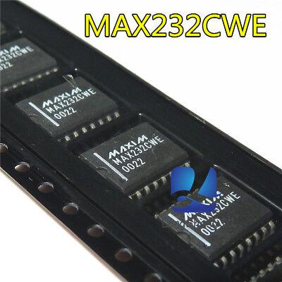 10 Pcs Max232cwe Wsop-16 Rs-232 Driversreceivers New
