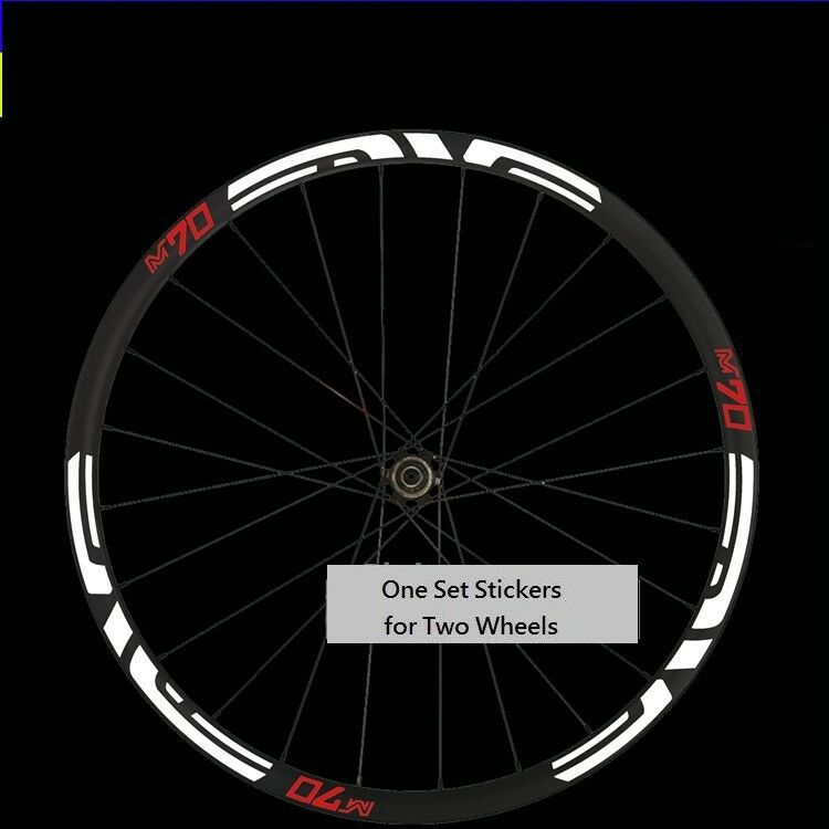 M70 Wheel Sticker for MTB Mountain Bike Rim Bicycle Cycling Race Decals