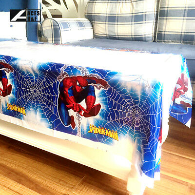 1pcs Spider-Man Theme Birthday Party Decoration Disposable Table Cloth - 1 Birthday Theme