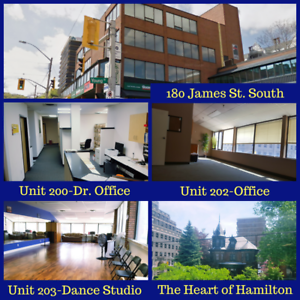 Office Space for Lease in Downtown Hamilton