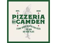 Looking for a full time Pizza maker in Camden Town
