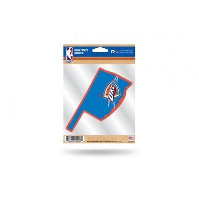 oklahoma city thunder nba basketball logo sticker auto car emblem decal usa made
