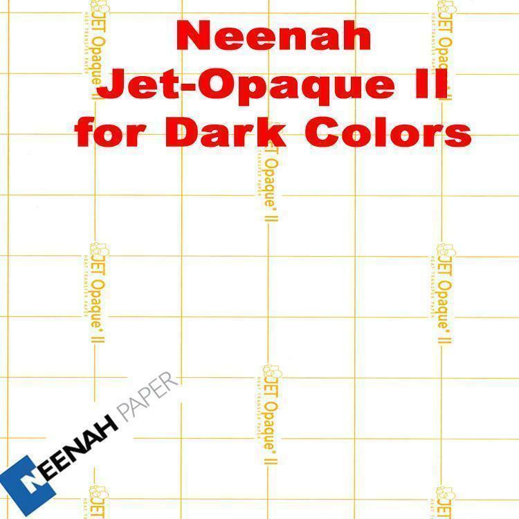 Jet Opaque II Heat Transfer Paper 8.5 x 11 -50 Sheets