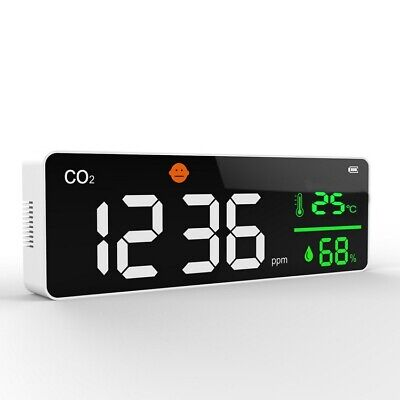 Co2 Detector Air Quality Monitor Gas Concentration Air Temperaturehumidity Test