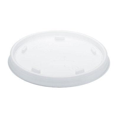 Plastic Cold Cup Lids, Fits 8-9oz Cups, Translucent, 1000/Carton - Yard Cup