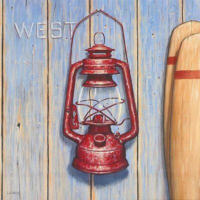 James Wiens West - Westen Poster Kunstdruck Bild 28x28cm