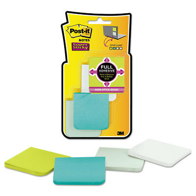 Post-it Full Adhesive Notes 2 X 2 Assorted Bora Bora Colors 25-sheet 8pack