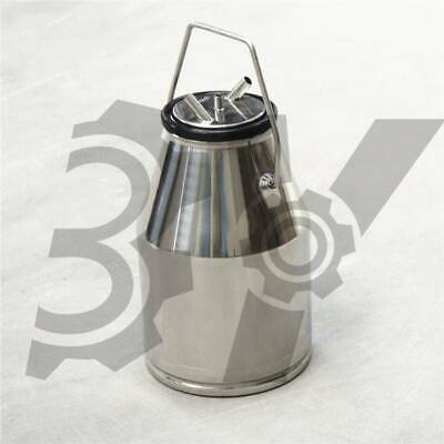 304stainless Steel25lsheep Goat Milker Milking Machine Bucket Barrel Tank