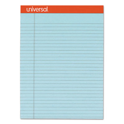 Universal Fashion Colored Perforated Note Pads 8 12 X 11 34 Legal Blue 50 Sht