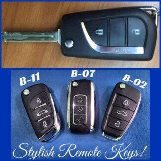 Corolla flip keys