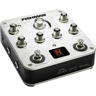 FISHMAN Aura Spectrum DI Acoustic Guitar Direct Box 3 Band EQ 128 PRO-AUR-SPC