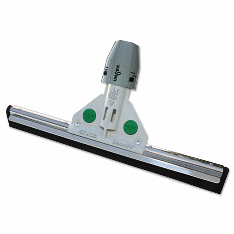 Unger Heavy Duty Water Wand with Socket & Twin Foam Rubber Blades 22 Inches