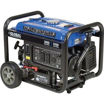New 3000 Watts Portable Generator Gasoline Electricrecoil Start 120v