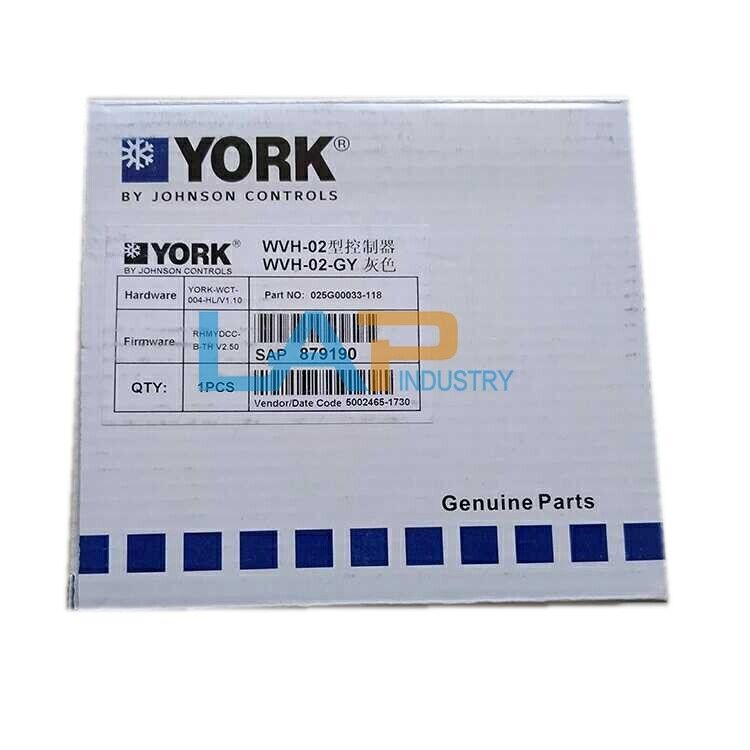 1PCS FOR YORK LCD display WVH-02 WVH-02-GY NEW IN BOX